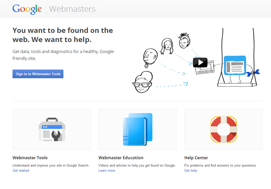 Adding sitemaps and meta tags to Google Webmasters - PagePicnic